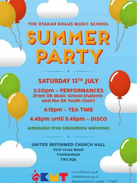 Summer Party Balloons 2019