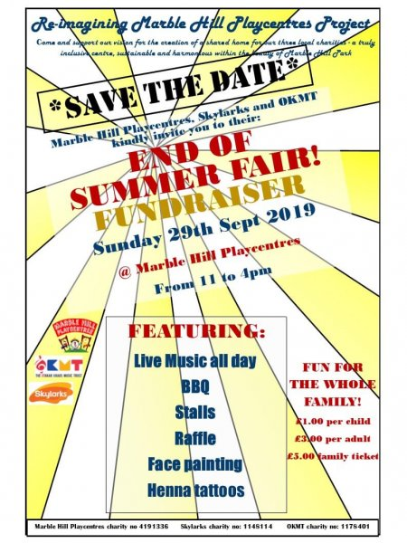 End of Summer Fair small poster