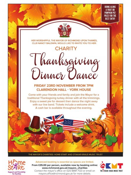 Thanksgiving Dinner Dance 2019